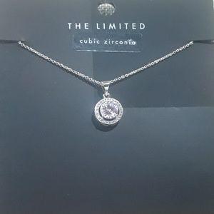 CZ necklace. J7-1252